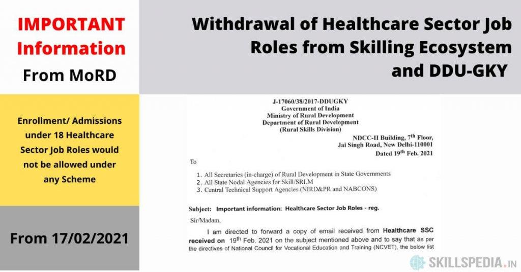 SKILLSPEDIA-WITHDRAWAL-OF-HEALTHCARE-SECTOR-JOB-ROLES-DDUGKY