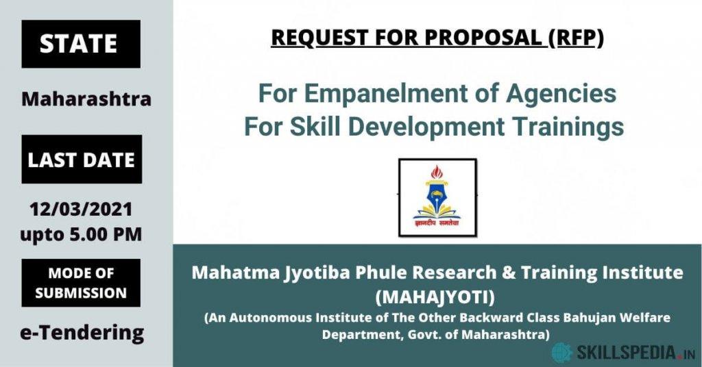 SKILLSPEDIA-Mahatma-Jyotiba-Phule-RFP-Skilldevelopment-Mahajyoti