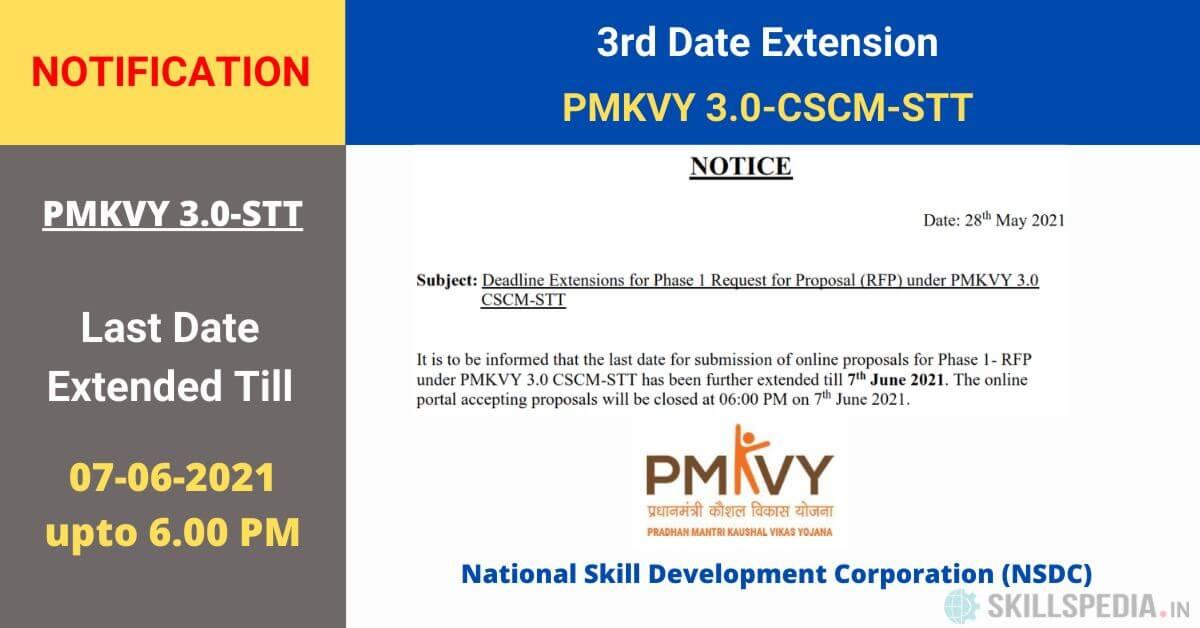 SKILLSPEDIA-Notice-PMKVY3-RFP-dealine-extension-3rd
