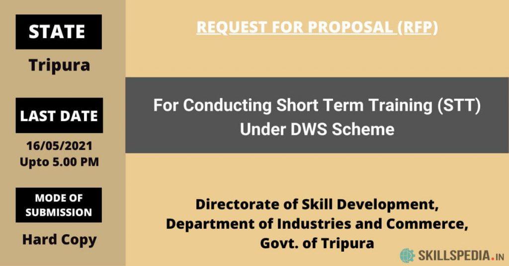 SKILLSPEDIA-RFP-EOI-DWS-SCHEME-Tripura