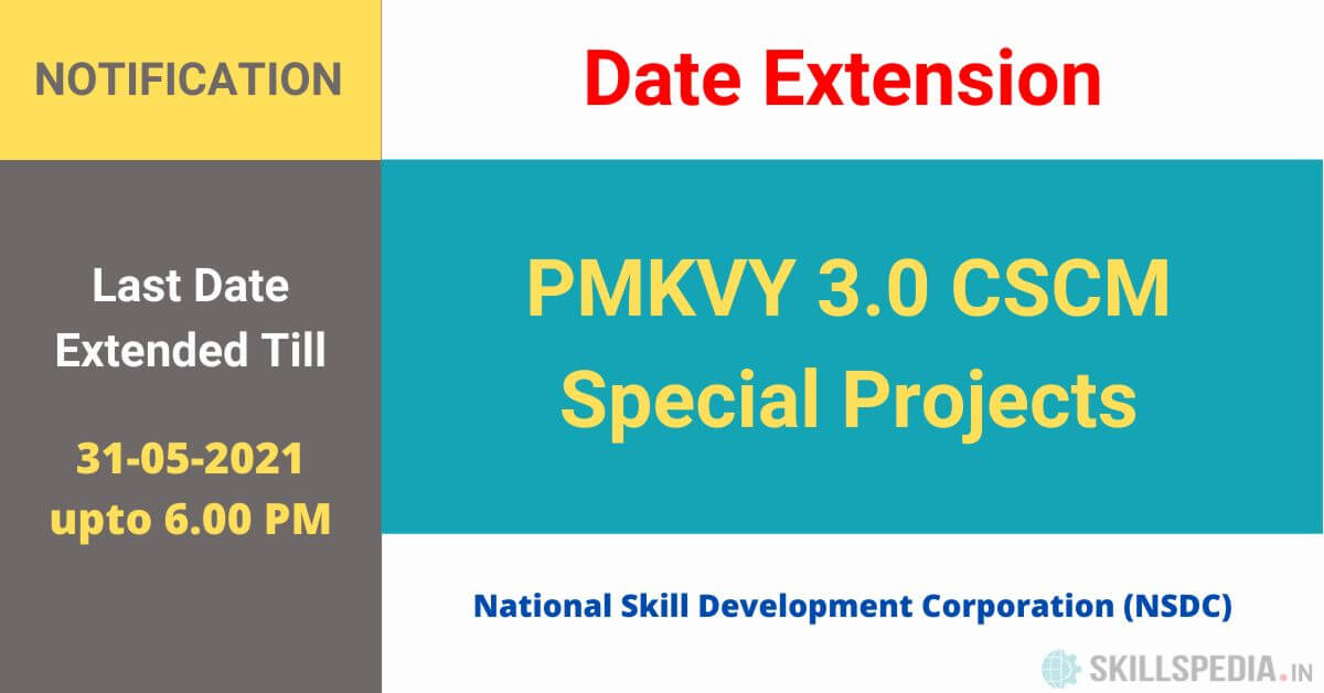 SKILLSPEDIA-notice-RFP-dealine-extension-SPECIAL-PROJECTS-PMKVY3.0