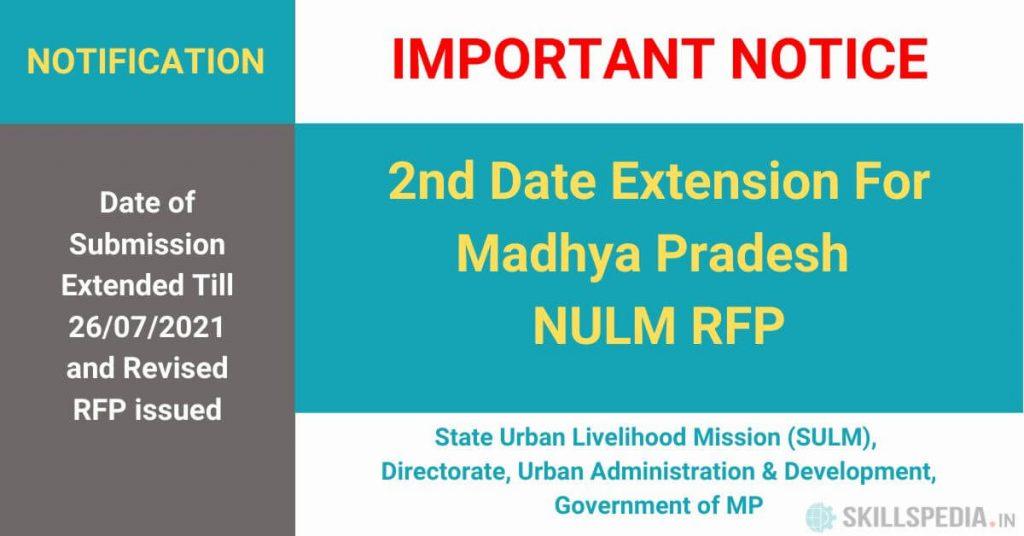 SKILLSPEDIA-NULM-MP-Corrigendum-date-extension-Revised-RFP