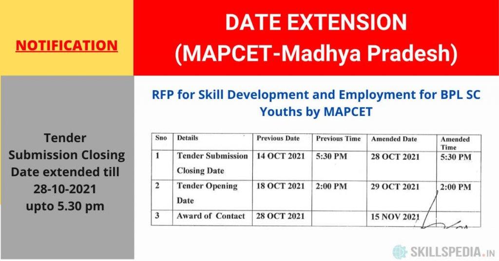 SKILLSPEDIA-MAPCET-RFP-DATE-EXTENSION